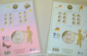 記念硬貨、フランス語学校のブログ