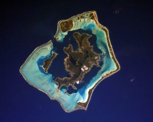 タヒチのボラボラ島