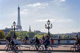パリで自転車、フランス語学校