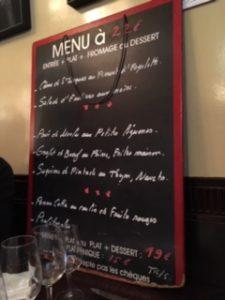 パリのお勧めレストラン