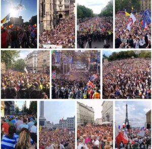 フランス デモ